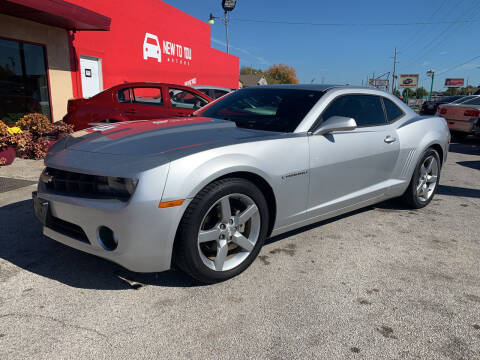 2012 Chevrolet Camaro for sale at New To You Motors in Tulsa OK
