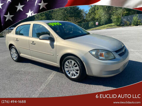 2009 Chevrolet Cobalt for sale at 6 Euclid Auto LLC in Bristol VA