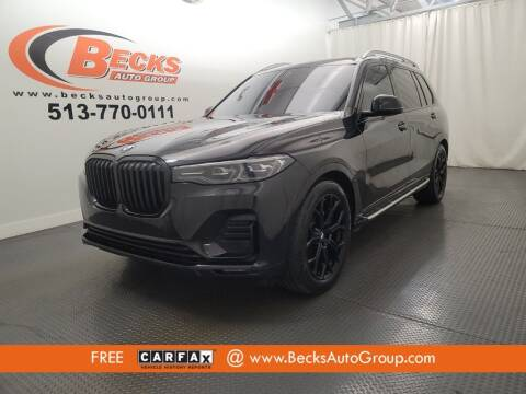 2020 BMW X7 for sale at Becks Auto Group in Mason OH