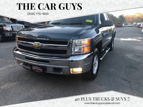 2011 Chevrolet Silverado 1500 for sale at The Car Guys in Hyannis MA