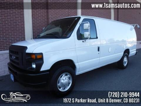 2013 Ford E-Series Cargo for sale at SAM'S AUTOMOTIVE in Denver CO