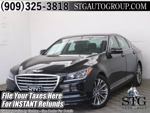 2015 Hyundai Genesis for sale at STG Auto Group in Montclair CA