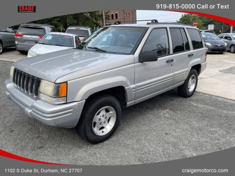 1998 Jeep Grand Cherokee for sale at CRAIGE MOTOR CO in Durham NC