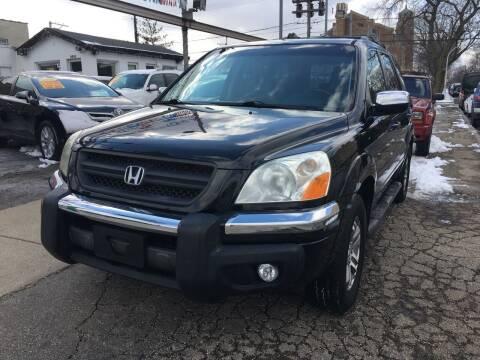 2003 Honda Pilot for sale at Jeff Auto Sales INC in Chicago IL