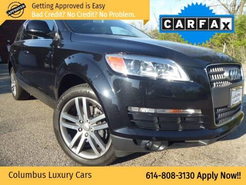 2008 Audi Q7 for sale at Columbus Luxury Cars in Columbus OH