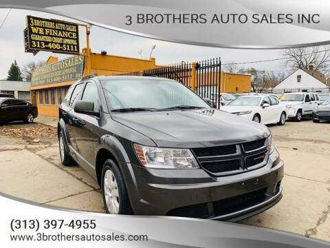 2014 Dodge Journey for sale at 3 Brothers Auto Sales Inc in Detroit MI