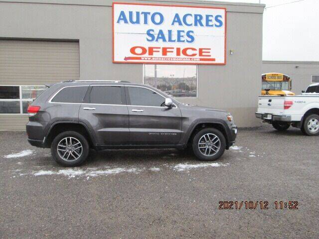 2019 Jeep Grand Cherokee for sale at Auto Acres in Billings MT