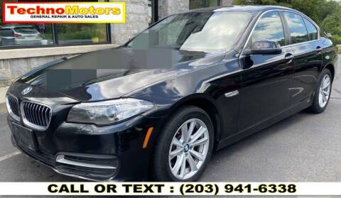 2014 BMW 5 Series for sale at Techno Motors in Danbury CT