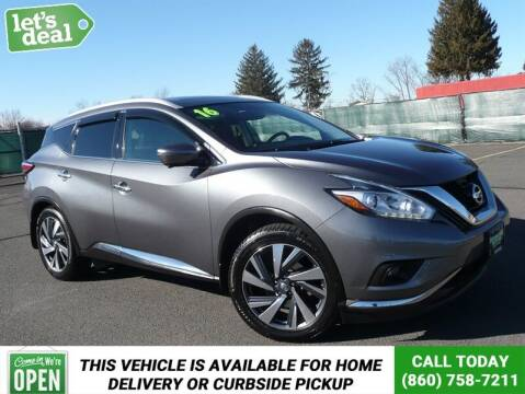 2016 Nissan Murano for sale at Shamrock Motors in East Windsor CT