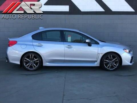 2016 Subaru WRX for sale at Auto Republic Fullerton in Fullerton CA