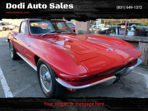 1964 Chevrolet Corvette for sale at Dodi Auto Sales in Monterey CA