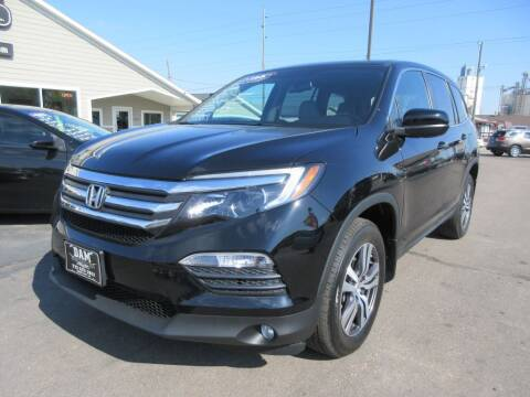 2018 Honda Pilot for sale at Dam Auto Sales in Sioux City IA