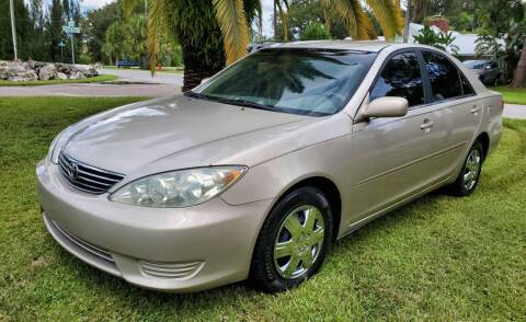 "2006 Toyota Camry for sale at WHEELS ""R"" US 2017 LLC in Hudson FL"