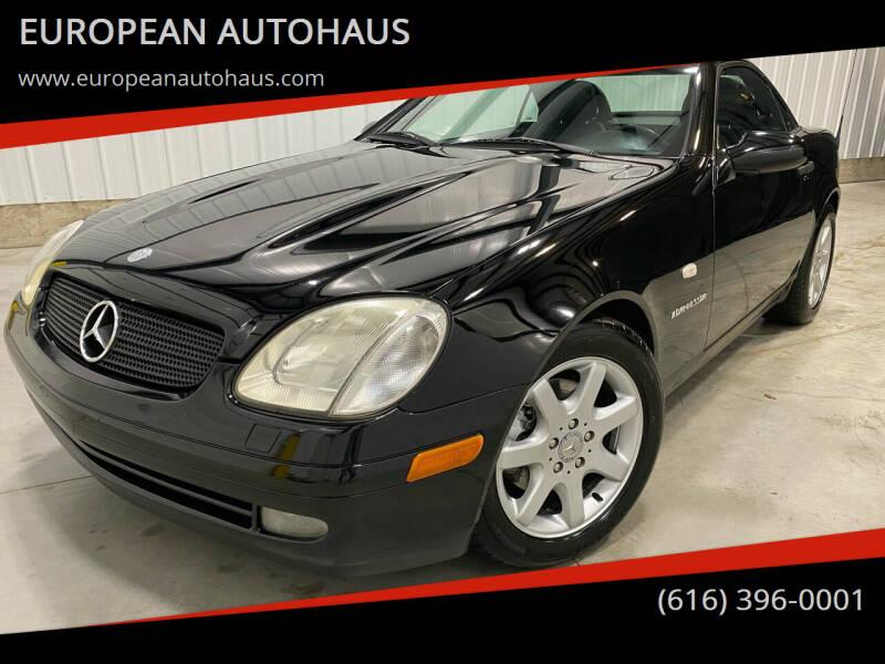 1999 Mercedes-Benz SLK for sale at EUROPEAN AUTOHAUS in Holland MI