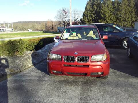 2006 BMW X3 for sale at Dun Rite Car Sales in Downingtown PA