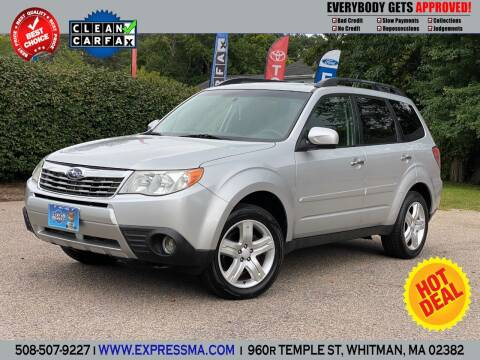 2009 Subaru Forester for sale at Auto Sales Express in Whitman MA