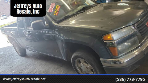 2006 GMC Canyon for sale at Jeffreys Auto Resale, Inc in Clinton Township MI