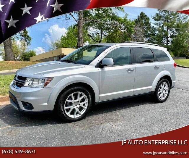 2013 Dodge Journey for sale at JP Auto Enterprise LLC in Duluth GA