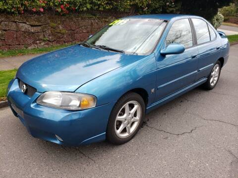 2002 Nissan Sentra for sale at KC Cars Inc. in Portland OR
