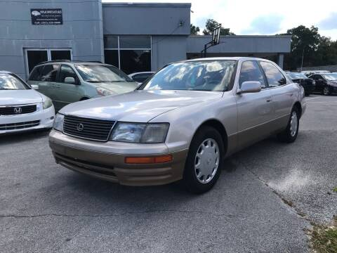 1995 Lexus LS 400 for sale at Popular Imports Auto Sales in Gainesville FL
