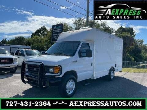 2007 Ford E-Series Chassis for sale at A EXPRESS AUTO SALES INC in Tarpon Springs FL