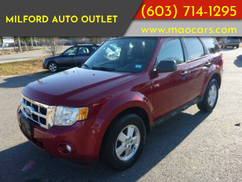 2011 Ford Escape for sale at Milford Auto Outlet in Milford NH