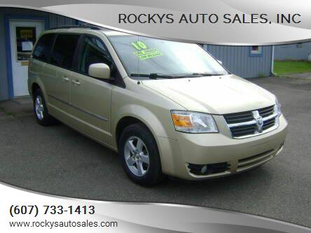 2010 Dodge Grand Caravan for sale at Rockys Auto Sales, Inc in Elmira NY
