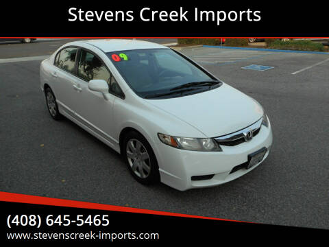 2009 Honda Civic for sale at Stevens Creek Imports in San Jose CA