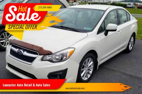 2012 Subaru Impreza for sale at Lancaster Auto Detail & Auto Sales in Lancaster PA