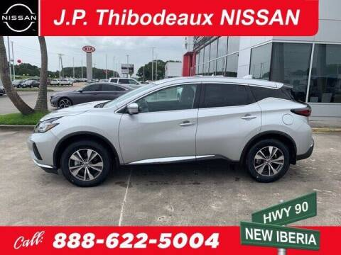 2020 Nissan Murano for sale at J P Thibodeaux Used Cars in New Iberia LA