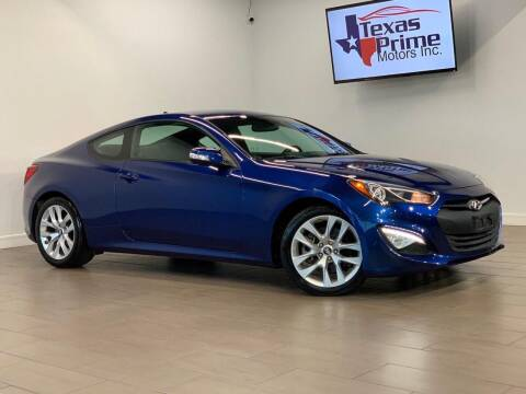 2015 Hyundai Genesis Coupe for sale at Texas Prime Motors in Houston TX