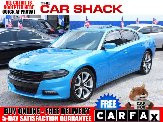 2015 Dodge Charger for sale at The Car Shack in Hialeah FL
