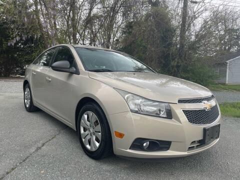 2012 Chevrolet Cruze for sale at Pristine AutoPlex in Burlington NC