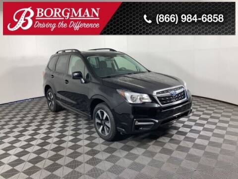 2018 Subaru Forester for sale at BORGMAN OF HOLLAND LLC in Holland MI