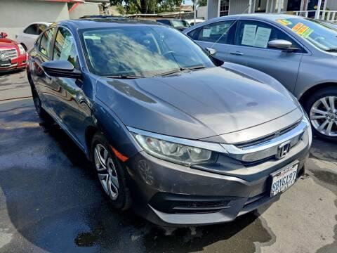 2018 Honda Civic for sale at Rey's Auto Sales in Stockton CA