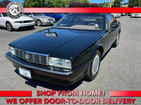 1991 Cadillac Allante for sale at Auto 206, Inc. in Kent WA