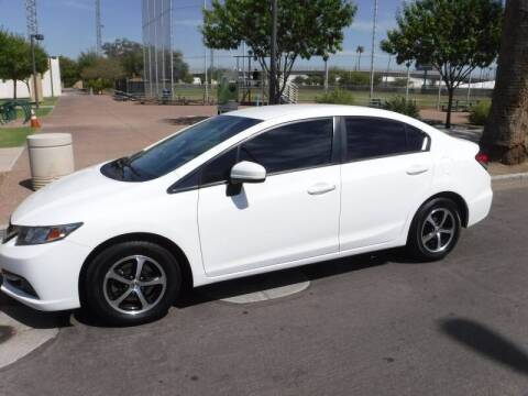 2015 Honda Civic for sale at J & E Auto Sales in Phoenix AZ