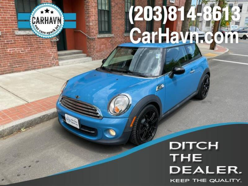 2012 MINI Cooper Hardtop for sale at CarHavn in New Haven CT