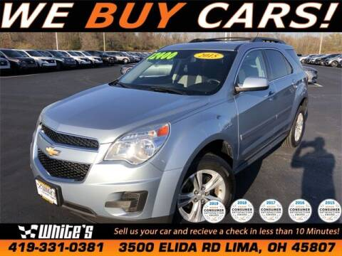 2015 Chevrolet Equinox for sale at White's Honda Toyota of Lima in Lima OH