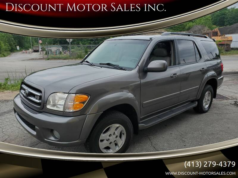 2004 Toyota Sequoia for sale at Discount Motor Sales inc. in Ludlow MA