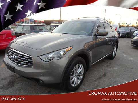 2011 Infiniti FX35 for sale at Cromax Automotive in Ann Arbor MI