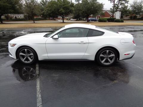 2016 Ford Mustang for sale at BALKCUM AUTO INC in Wilmington NC