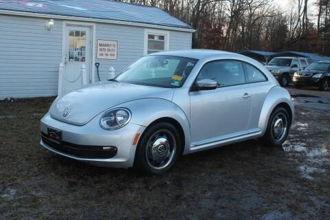 2012 Volkswagen Beetle for sale at Manny's Auto Sales in Winslow NJ