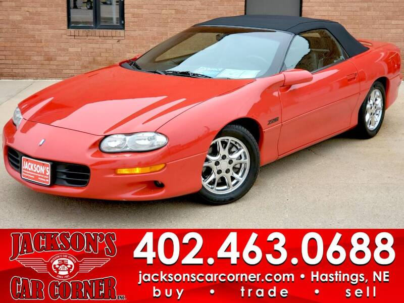 2002 Chevrolet Camaro for sale at Jacksons Car Corner Inc in Hastings NE