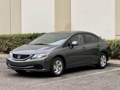 2013 Honda Civic for sale at Carfornia in San Jose CA