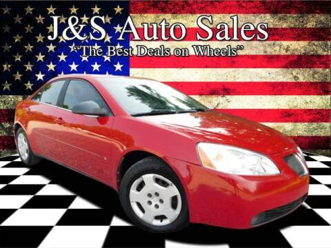 2007 Pontiac G6 for sale at J & S Auto Sales in Clarksville TN