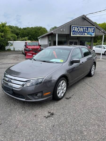 2011 Ford Fusion for sale at Frontline Motors Inc in Chicopee MA