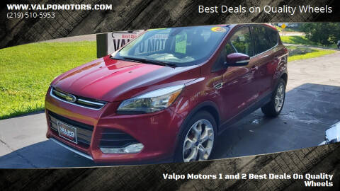 2013 Ford Escape for sale at Valpo Motors 1 and 2  Best Deals On Quality Wheels in Valparaiso IN