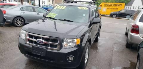 2011 Ford Escape for sale at TC Auto Repair and Sales Inc in Abington MA