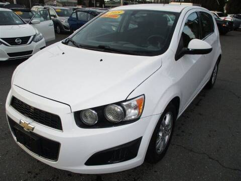 2015 Chevrolet Sonic for sale at GMA Of Everett in Everett WA